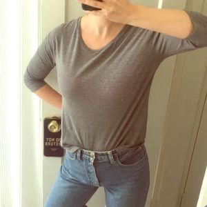 Lucky brand gray shirt